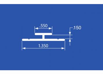 """HT-18A - Aluminum Panel Retainer - 144"""""""