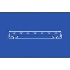 6153 Flexible Curtain Track Double Cartridge