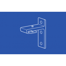 6260 Wall Bracket for I Beam Track for Heavy Duty I Beam Track- 1.25 in Extension