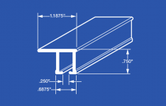 84004 Ball Bearing Carrier Curtain Track - Ceiling Mount