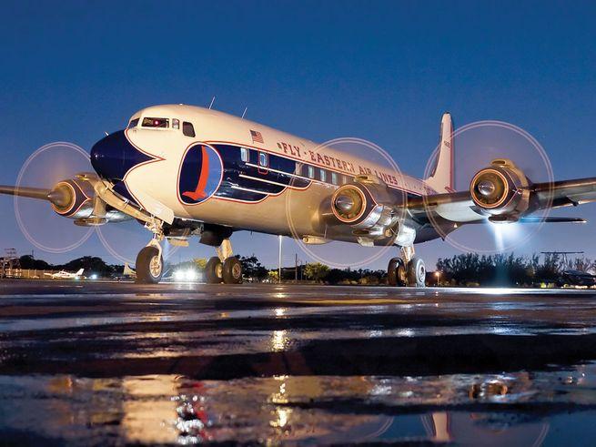 Vintage Airliner Restoration - DC-7B N836D  7a3b43f840