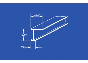 4200 L Beam Aluminum Curtain Track