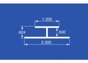 """HT-50A - Aluminum Panel Retainer -144"""""""