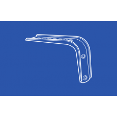 6171 Double Wall Bracket for Flexible Track