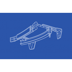 6100 Flexible Track Valence Assembly - Sold  in 10 Foot Sections