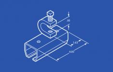 Industrial Track Splice Edge Clamp