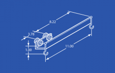 Industrial Overlapping Trolley Steel Wheels