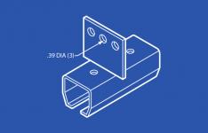 Industrial Track Splice - Vertical