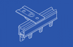 84003 Ball Bearing Curtain Track Kit - Ceiling Mount