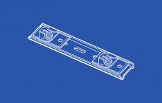 84153 Ceiling Clip - Double