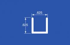 "GS-200A - Aluminum Panel Retainer - Mill Finish - 144"""