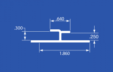"""CPR-6A - Aluminum Panel Retainer - 168"""""""